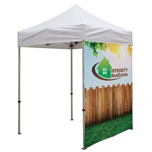 6' Tent Full Wall (Dye Sublimated, Single-Sided)