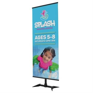 Base-X Banner Display Single-Banner Kit