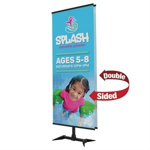 Base-X Banner Display Double-Banner Kit