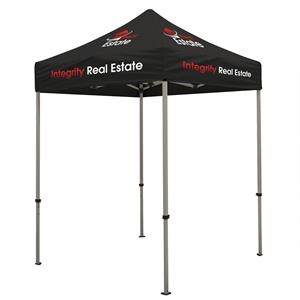 Deluxe 6' Tent Kit (Full-Color Imprint, 7 Locations)
