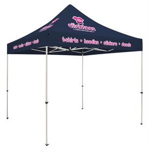Standard 10' Tent Kit (Full-Color Imprint, 8 Locations)