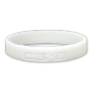 "1/2"" UV Reactive Debossed Awareness Bracelet"