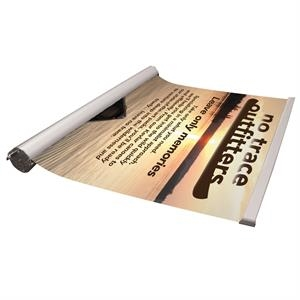Outdoor Ballast Retractor Banner and Graphic Roller