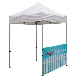 Deluxe 6' Tent Half Wall Kit (Dye-Sublimated, 1-Sided)