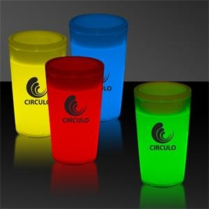2 oz. Tapered Style Light Up Glow Shot Glass