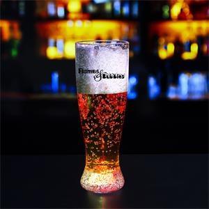 24 oz. Pilsner Glass w/ Multi-Colored LED Lights