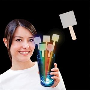 Glow Light Up Swizzle Stick Toppers