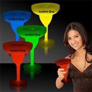 10 oz. Light Up Glow Margarita Glass