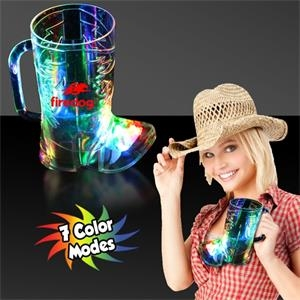 16 oz. Cowboy Boot Shaped LED Light Up Cup