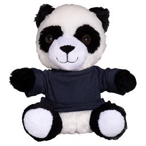 "7"" Plush Panda with T-Shirt"