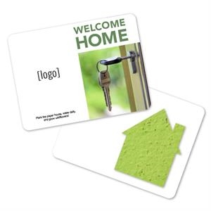 Real Estate Mini Gift Pack With Seed Paper Shape
