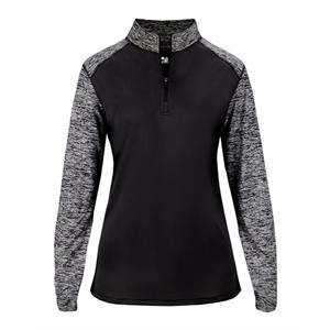 Badger Women's Sport Blend Quarter-Zip Pullover
