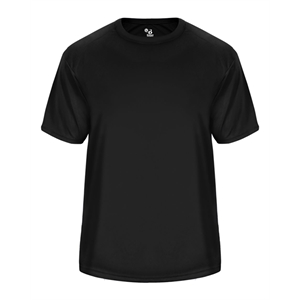 Badger Youth Vent Back T-Shirt