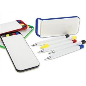 Pen, Highlighter Writing Set