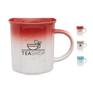 10 oz. Muyil Speckle Gradient Ceramic Mug