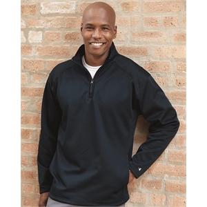 Badger Performance Fleece Quarter-Zip Pullover