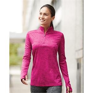 Badger Women's Tonal Blend Quarter-Zip Pullover