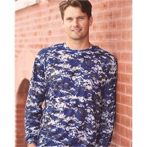 Badger Digital Camo Long Sleeve T-Shirt