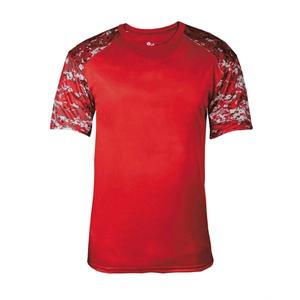 Badger Digital Camo Battle Sport T-Shirt