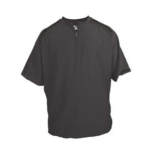 Badger Competitor Short Sleeve Pullover Windshirt