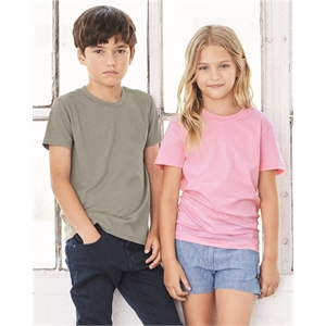 BELLA + CANVAS Youth Unisex Jersey Tee