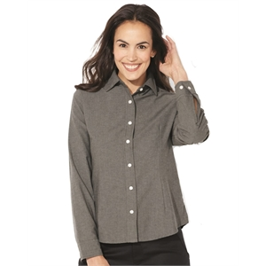 FeatherLite Women's Long Sleeve Stain Resistant Oxford Shirt