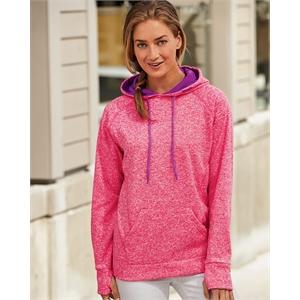 J. America Women's Cosmic Fleece Hooded Sweatshirt