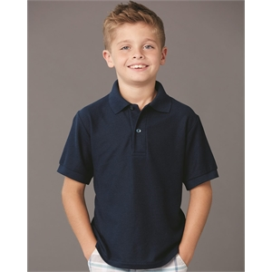 JERZEES Youth Easy Care Pique Sport Shirt