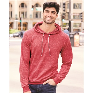 JERZEES Snow Heather French Terry Pullover Hood Sweatshirt