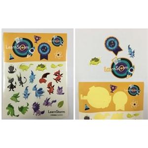 Full Color Adhesive Sticker Label