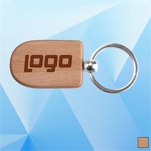 ECO Friendly Wooden Keychain