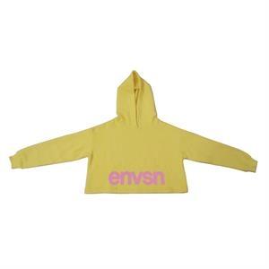 Fleece Cotton Crop Long Sleeve Hoodie Sweatshirt Pullover