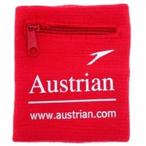 Athletic Wristband with Pocket