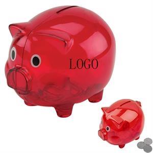 Piggy Shape Coin Bank