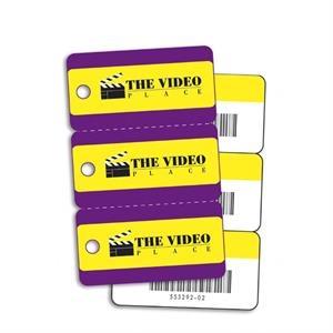 Triple Key Tag Card