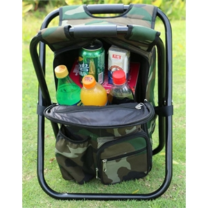 Outdoor leisure folding ice pack stool fishing beach chair