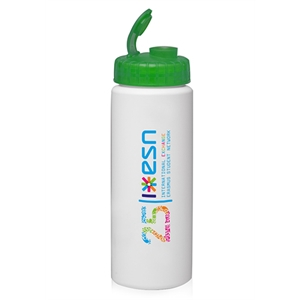32 Oz Hdpe Plastic Water Bottles With Sipper Lids