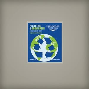 Grow Green Earth Day Seed Paper Giveaway