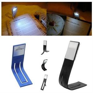 Mini LED Foldable Bookmark Book Light