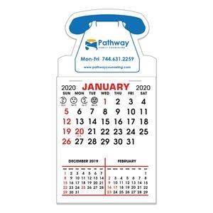 Stick It Magnet Calendar Pads - Telephone