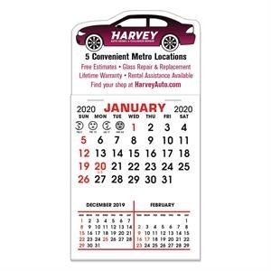 Stick It Magnet Calendar Pads - Car