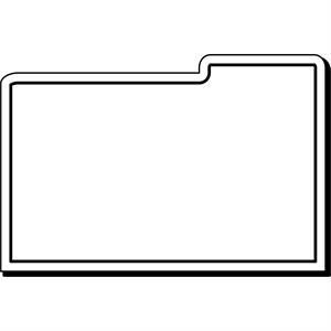 Folder Stock Shape Magnet