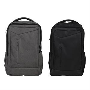 "15.6 "" Laptop Backpack in Premium Melange Gray or Black"