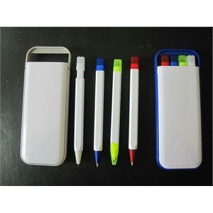 Pen, Pencil, Highlighter Set