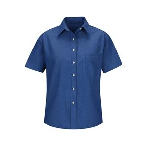Red Kap Women's Short Sleeve Oxford Dress Shirt