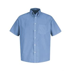 Red Kap Easy Care Short Sleeve Dress Shirt - Long Sizes