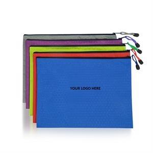 Document File Bag w/ Zipper