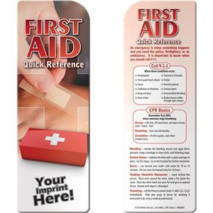 Bookmark™ - First Aid Quick Reference