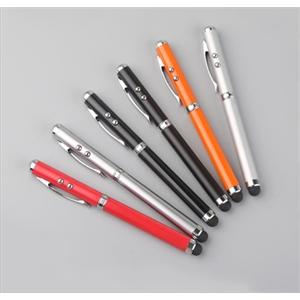 Laser pointer ballpoint pen stylus custom logo