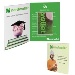 Greeting Card w/Microfiber + PVC Pouch